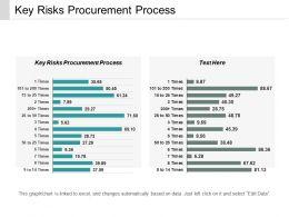 Key Risks Procurement Process Ppt Powerpoint Presentation Portfolio Design Ideas Cpb