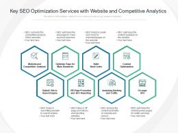 Key SEO Optimization Services With Website And Competitive Analytics