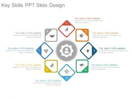Key Skills Ppt Slide Design