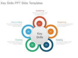 Key Skills Ppt Slide Templates