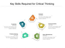 Key Skills Required For Critical Thinking
