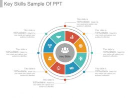 Key Skills Sample Of Ppt