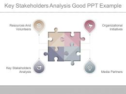 Key Stakeholders Analysis Good Ppt Example