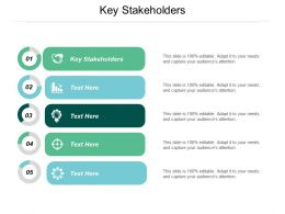 Key Stakeholders Ppt Powerpoint Presentation Gallery Graphics Template Cpb