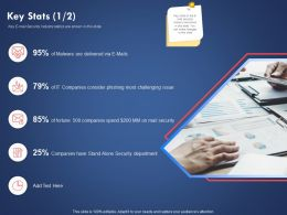 Key Stats Security Department Ppt Powerpoint Presentation Background Image