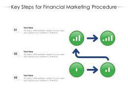 Key Steps For Financial Marketing Procedure