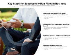 Key Steps For Successfully Run Pivot In Business