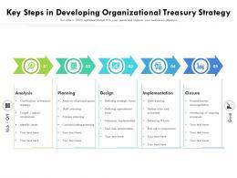 Key Steps In Developing Organizational Treasury Strategy