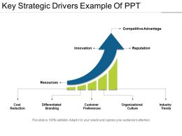 Key Strategic Drivers Example Of Ppt