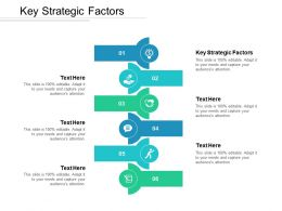 Key Strategic Factors Ppt Powerpoint Presentation Gallery Brochure Cpb
