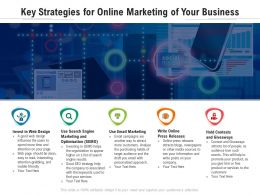 Key Strategies For Online Marketing Of Your Business