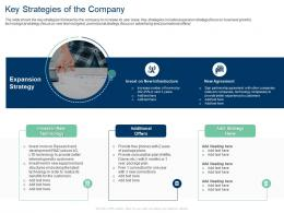 Key Strategies Of The Company Development Technology Ppt File Pictures