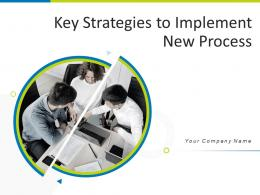 Key Strategies To Implement New Process Powerpoint Presentation Slides