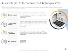 Key Strategies To Overcome Challenges Gaining Confidence Consumers Towards Startup Business