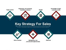 Key Strategy For Sales Example Of Ppt Presentation