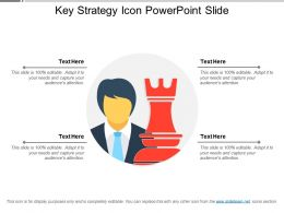 Key Strategy Icon Powerpoint Slide