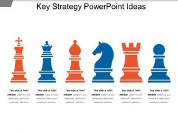 Key Strategy Powerpoint Ideas
