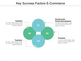 Key Success Factors E Commerce Ppt Powerpoint Presentation Ideas Backgrounds Cpb
