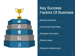 Key Success Factors Of Business Good Ppt Example