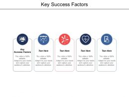 Key Success Factors Ppt Powerpoint Presentation File Shapes Cpb