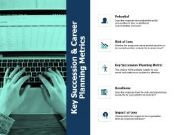 Key Succession And Career Planning Metrics Growth Ppt Powerpoint Presentation Show
