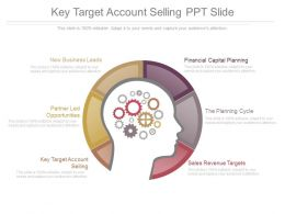 Key Target Account Selling Ppt Slide