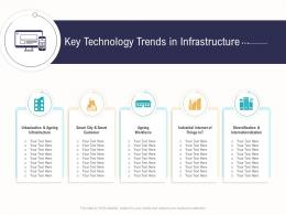 Key Technology Trends In Infrastructure Business Operations Analysis Examples Ppt Microsoft