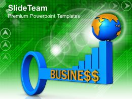 Key To Business Global Issues Powerpoint Templates Ppt Themes And Graphics 0113