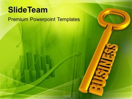 Key To Business Growth Concept Powerpoint Templates Ppt Themes And Graphics 0213