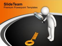 Key To Business Success Key PowerPoint Templates PPT Themes And Graphics 0213