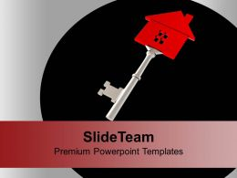 Key To Home Realestate Powerpoint Templates Ppt Themes And Graphics 0113