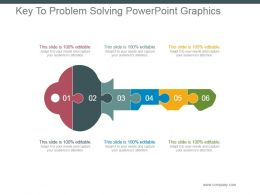 Key To Problem Solving Powerpoint Graphics