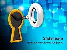Key To Success Business PowerPoint Templates PPT Themes And Graphics 0213
