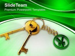 Key To Success Finance Business Powerpoint Templates Ppt Themes And Graphics 0113