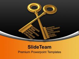 Key To Success Innovation Business Concept Powerpoint Templates Ppt Themes And Graphics 0113