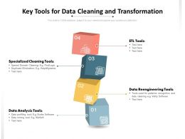 Key Tools For Data Cleaning And Transformation