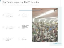 Key Trends Impacting FMCG Industry Ppt Powerpoint Presentation Styles Summary