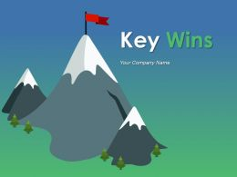 Key Wins Powerpoint Presentation Slides