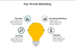 Key Words Marketing Ppt Powerpoint Presentation Outline Deck Cpb