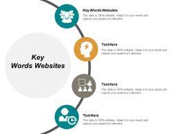Key Words Websites Ppt Powerpoint Presentation Portfolio Background Designs Cpb
