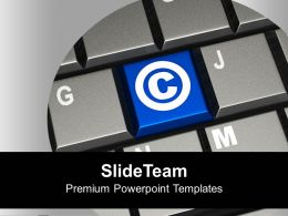 keyboard_with_copyright_symbol_powerpoint_templates_ppt_themes_and_graphics_0213_Slide01