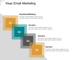 Keys Email Marketing Ppt Powerpoint Presentation Inspiration Styles Cpb