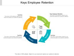 Keys Employee Retention Ppt Powerpoint Presentation Model Topics Cpb