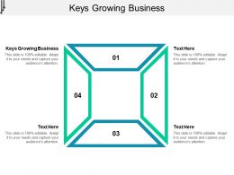 Keys Growing Business Ppt Powerpoint Presentation Infographics Graphics Cpb