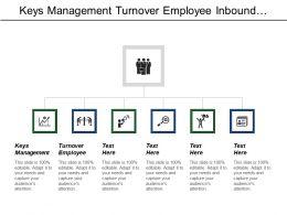Keys Management Turnover Employee Inbound Marketing Funding Capital