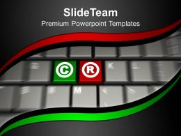 keys_of_copyright_on_keyboard_powerpoint_templates_ppt_themes_and_graphics_0213_Slide01