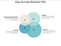 Keys Success Business Plan Ppt Powerpoint Presentation Slide Download Cpb