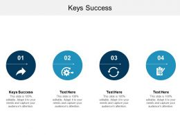 Keys Success Ppt Powerpoint Presentation File Smartart Cpb