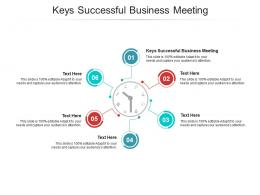 Keys Successful Business Meeting Ppt Powerpoint Presentation Show Model Cpb