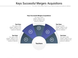 Keys Successful Mergers Acquisitions Ppt Powerpoint Presentation Model Themes Cpb